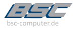 BSC Computer Systeme GmbH LOGO 250 100