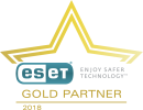 ESET Partnerlogo Gold 2018