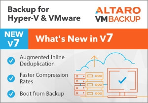 neu: Altaro VM Backup Version 7 kaufen